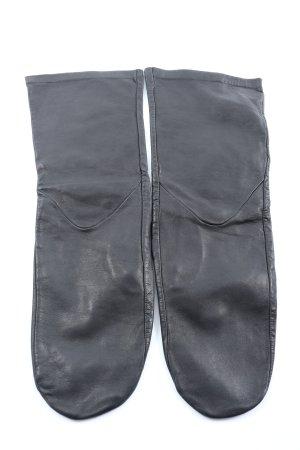 COS Lederhandschuhe schwarz Casual-Look