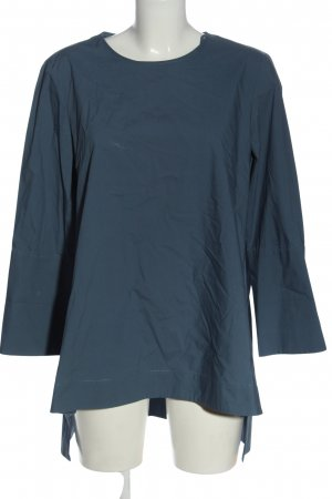 COS Long-Bluse blau Casual-Look