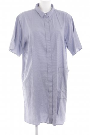 COS Long-Bluse blau-weiß Business-Look