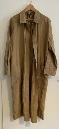 COS Pea Jacket camel-sand brown cotton