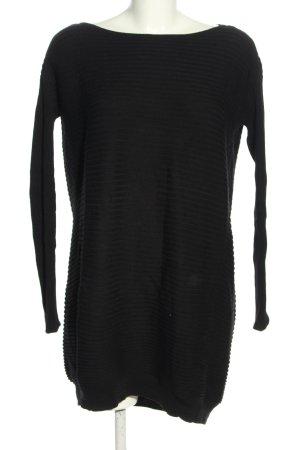 COS Lange jumper zwart gestreept patroon casual uitstraling