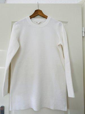 COS Długi sweter biały