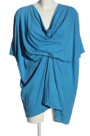 COS Lang shirt blauw casual uitstraling
