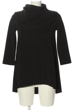 COS Longshirt schwarz Casual-Look