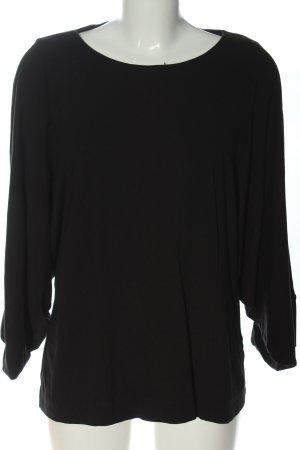 COS Koszulka z długim rękawem czarny W stylu casual