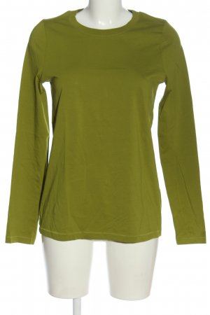 COS Longsleeve grün Casual-Look