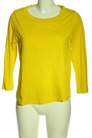 COS Manica lunga giallo pallido stile casual