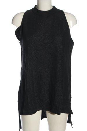 COS Długi top czarny W stylu casual