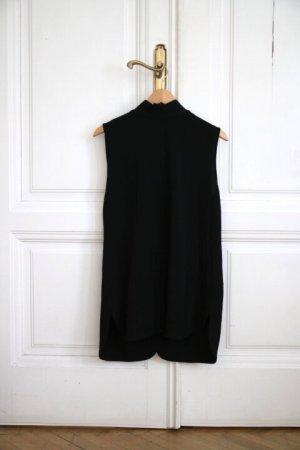 COS Longtop Top schwarz mit Rückenausschnitt Größe M NEU und mit Etikett