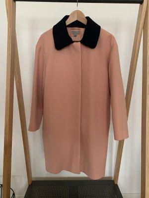 COS Mantel Bubikragen 60er 38 rosa Retro