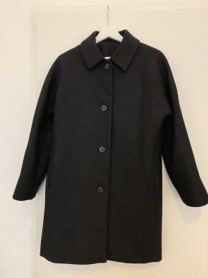 COS Short Coat black
