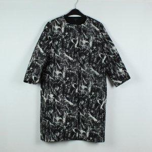 COS Mantel Gr. 36 schwarz weiß grau 3/4-Arm (19/11/517*)