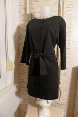 COS Manteau oversized noir coton
