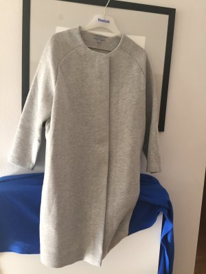 COS Oversized Coat silver-colored