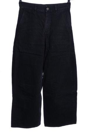 COS Jeans large noir style décontracté