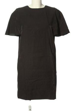 COS Robe à manches courtes noir style décontracté