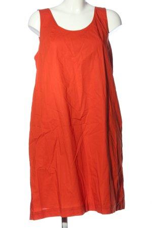 COS Midi-jurk rood casual uitstraling