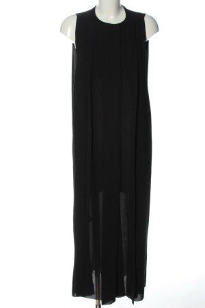 COS Chiffonkleid schwarz Elegant
