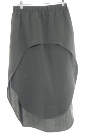 COS Midi Skirt dark green casual look
