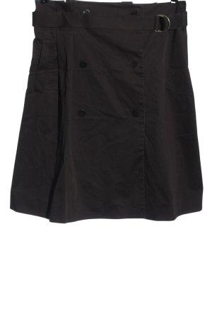 COS Midi-rok zwart elegant