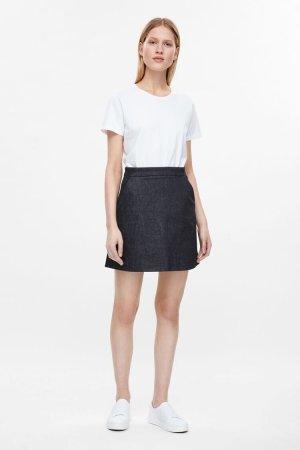 COS mini denim skirt