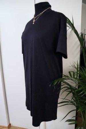 COS Vestido de Verano azul oscuro-azul Algodón