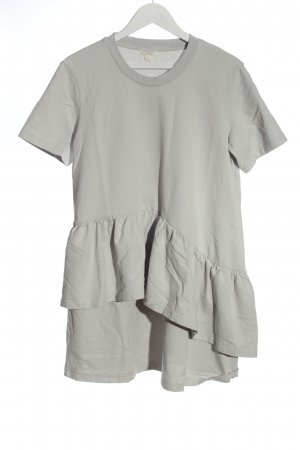 COS Robe courte gris clair style décontracté