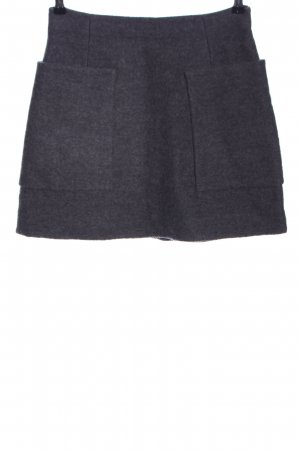 COS Miniskirt light grey flecked casual look