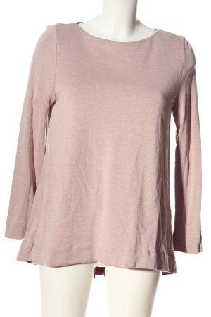 COS Koszulka o kroju podkreślającym sylwetkę różowy W stylu casual