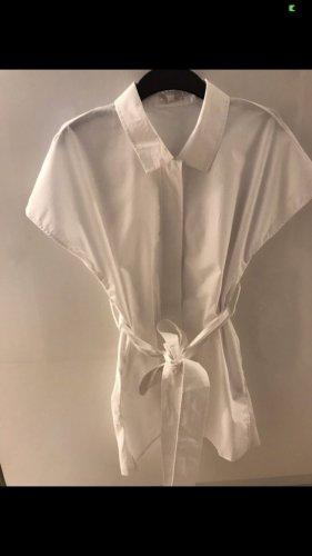 COS Camisa de manga corta blanco