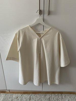 COS Camicia oversize crema-bianco Cotone