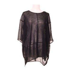 COS Oversized blouse zwart Polyester