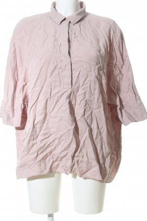 COS Oversized Bluse pink Business-Look