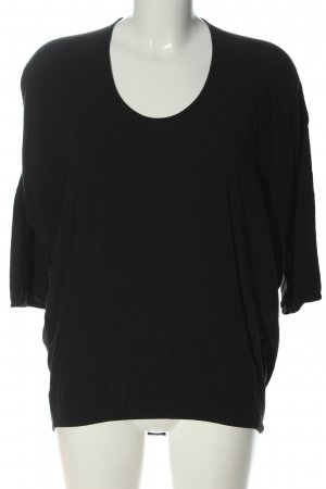 COS Cienki sweter z dzianiny czarny W stylu casual