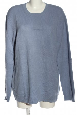 COS Oversized Pullover blau Casual-Look