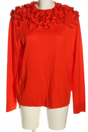 COS Pull oversize rouge style festif
