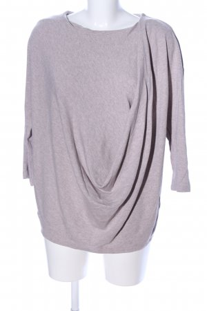 COS Oversized Shirt light grey flecked casual look
