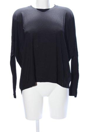 COS Camicia oversize nero stile casual