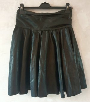 COS Leather Skirt black