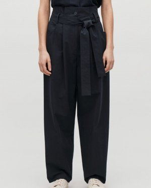 COS Baggy Pants dark blue