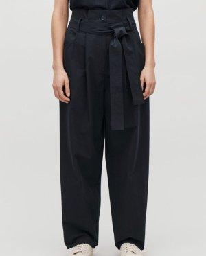 COS Pantalone largo blu scuro