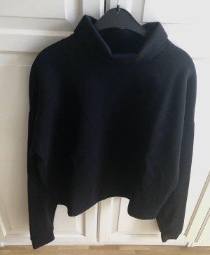 COS Pull-over à col roulé noir coton
