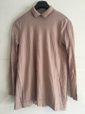 COS Knitted Sweater dusky pink