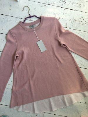 COS Jersey largo rosa empolvado-rosa