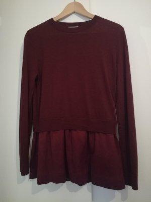 COS Fine Knit Jumper multicolored wool