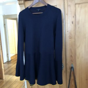 COS Long Sweater yellow-dark blue