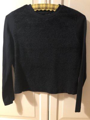 COS Kraagloze sweater donkerblauw