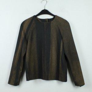 Cos Pullover Gr. 34 braun schwarz (19/12/142*)