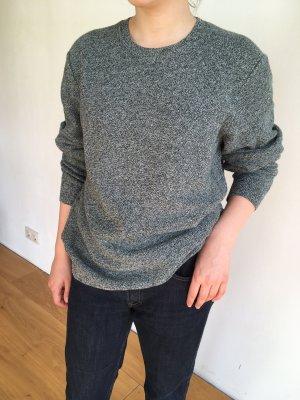 COS Maglione oversize grigio-verde scuro