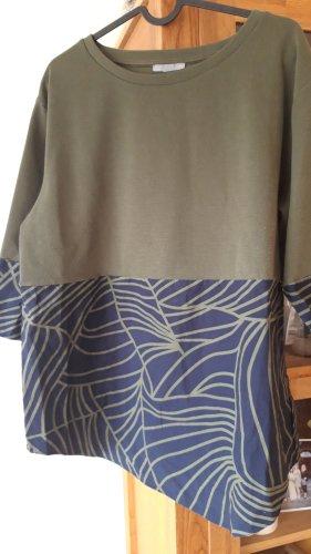 Cos Pullover mit Blusenabsatz